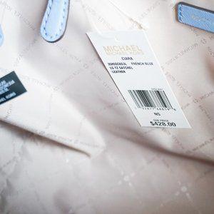 Michael Kors Bags - Michael Kors Ciara L Satchel Bag French Blue